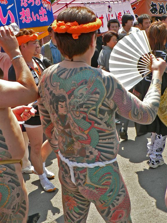 Tattoos in Anime and the Japanese Mafia